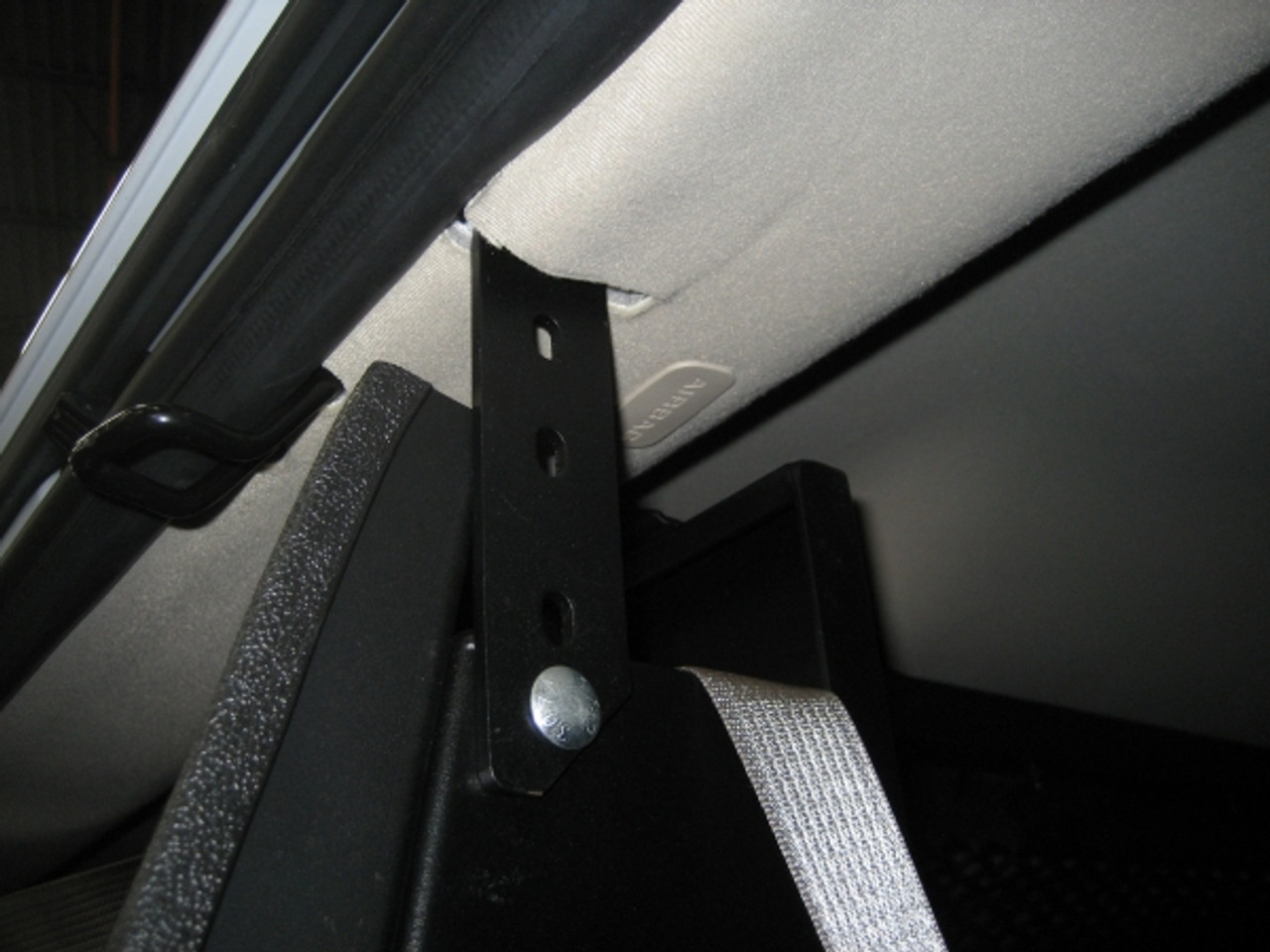 Universal Van Middle Cage Partition by Havis Ford E-Series Chevy G-Series  and GMC Express