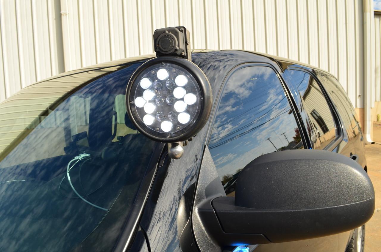 Whelen PAR 46 Super-LED Combination Spot Light and Warning Light on a 2012 Tahoe.