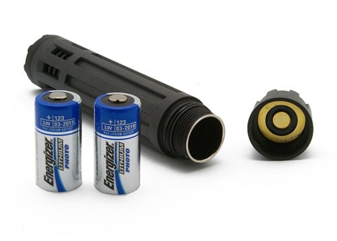 Police Flashlight INFORCE 6VX 9VX Adjustable Intensity