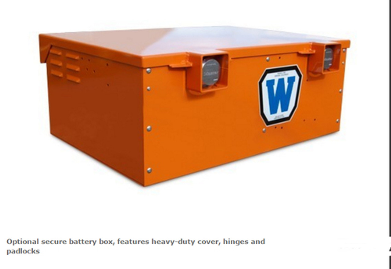 Wanco Mini Message Board Sign and Trailer, Solar and Battery Powered WVT3, Three Line