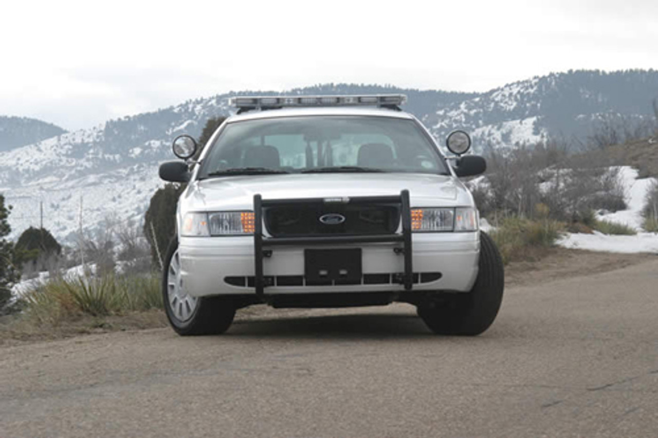 Setina Push Bumper PB400 Grill Guard for Police, Civilan, and Emergency Vehicles, fits Cars SUVs Trucks and Vans