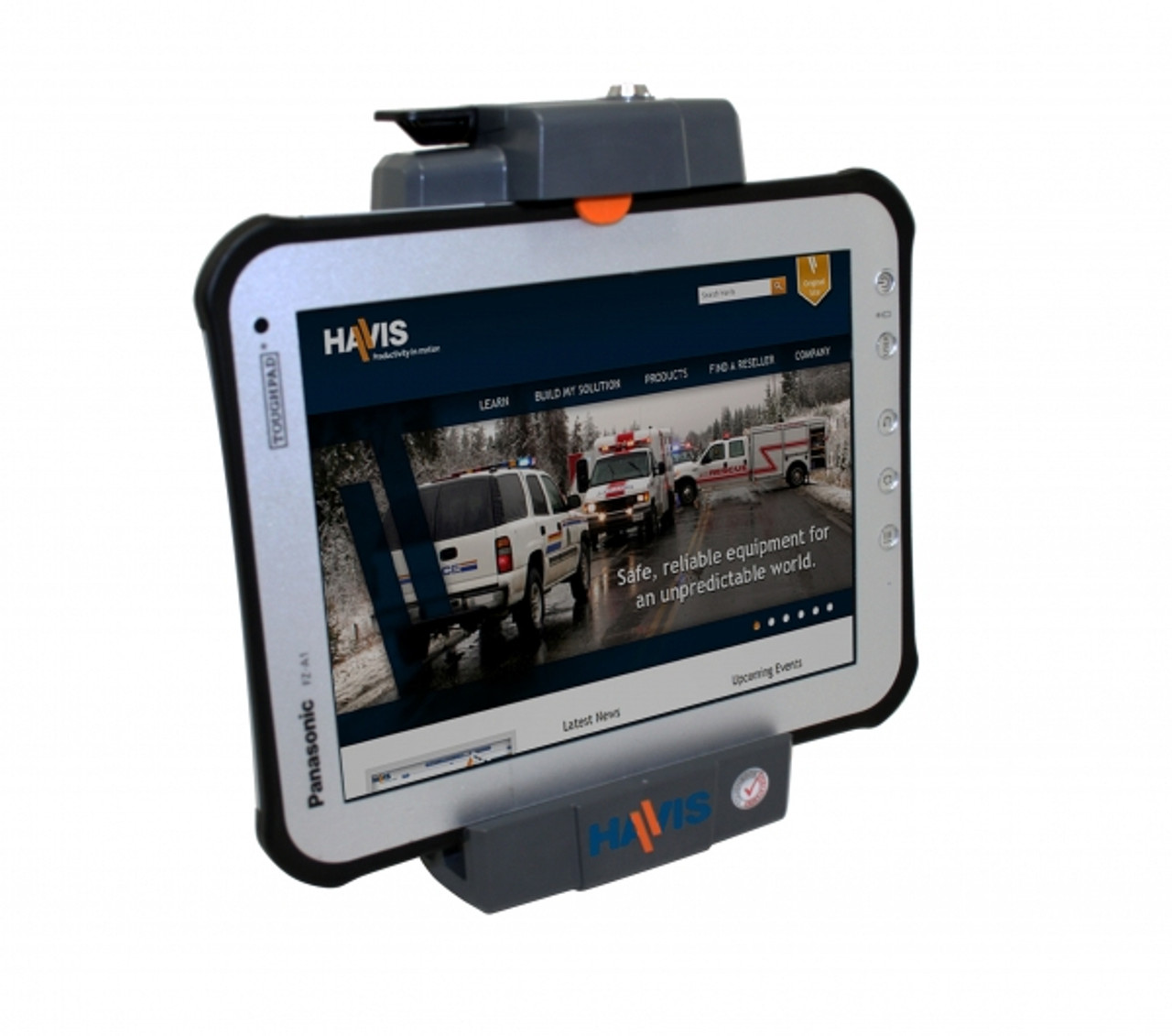Panasonic Toughpad FZ-A1 tablets Docking Station by Havis
