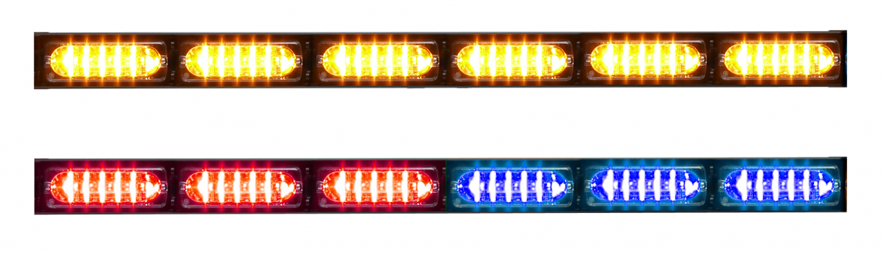 Whelen TADF6 Traffic Advisor LED Light Stick DUO
