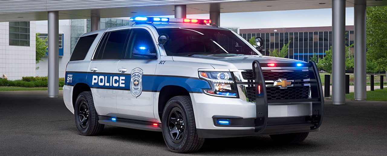 Tahoe Police Vehicle Graphics Decal Kit FS-13