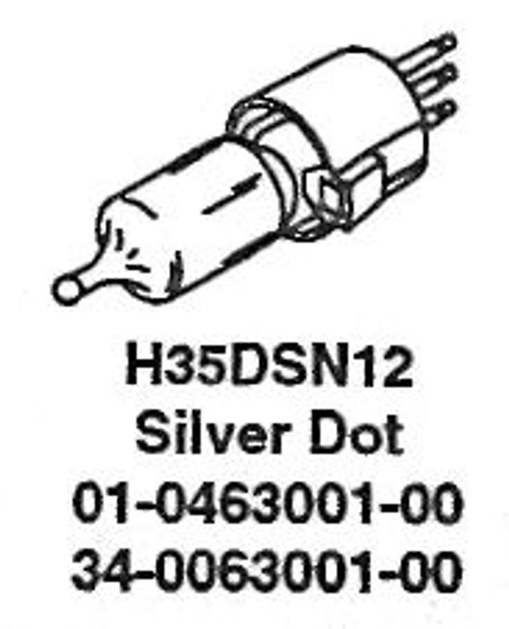 Whelen Replacement Halogen Bulb 35 Watt H35DSN12