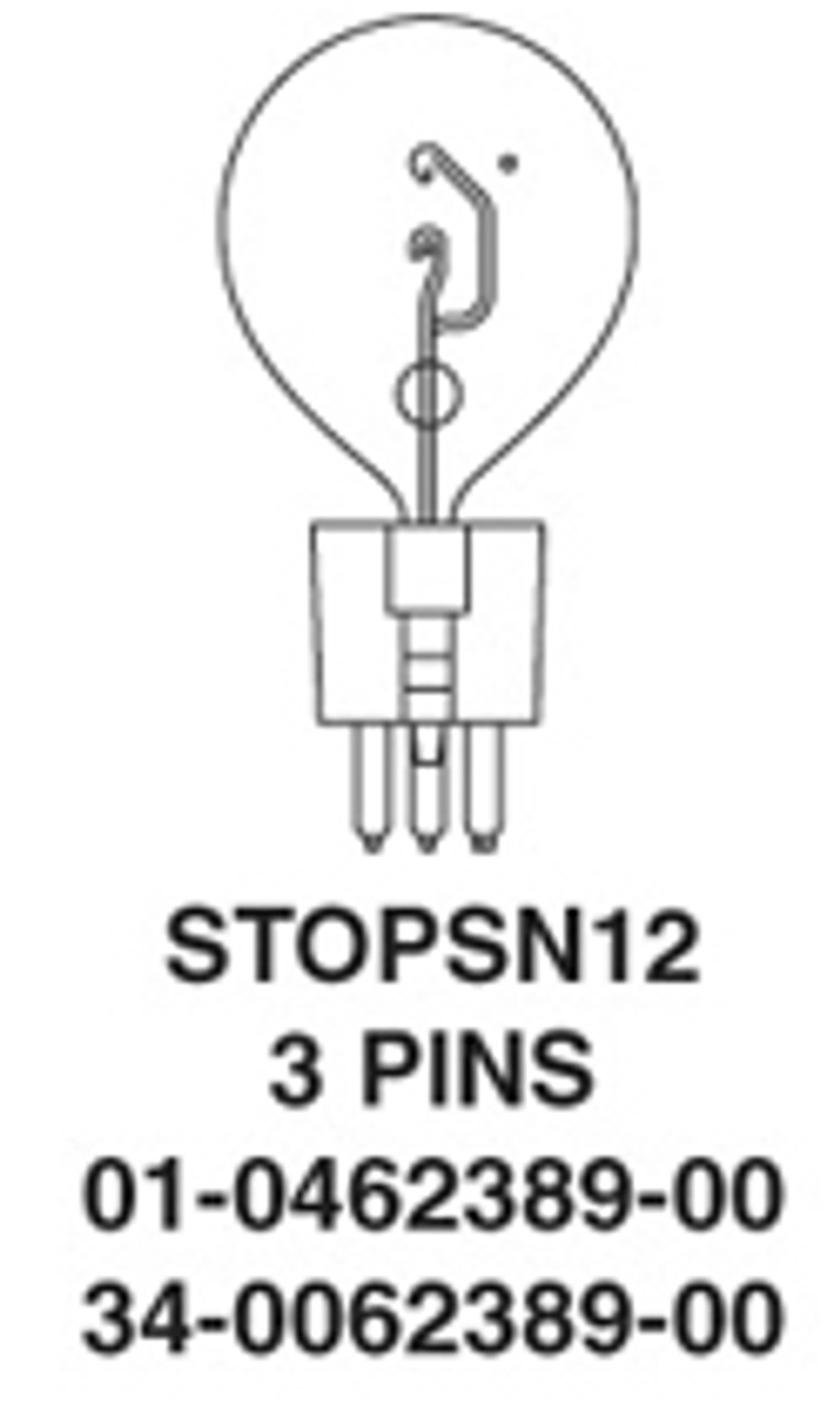 Whelen Replacement Halogen Bulb STOPSN12