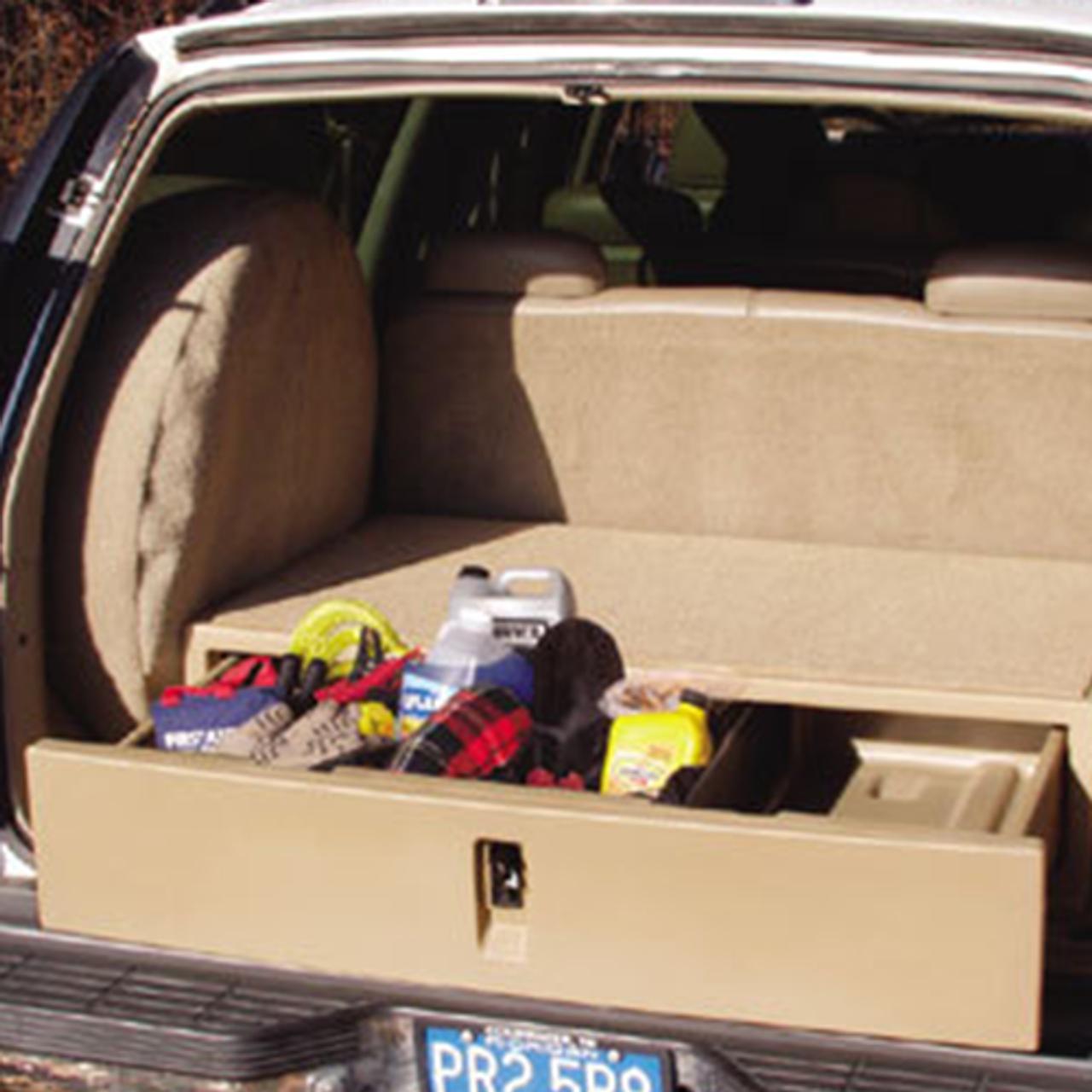 Suv Cargo Organizer >> Suv Rear Cargo Caddy Storage System And Organizer By Epi Fleet Safety
