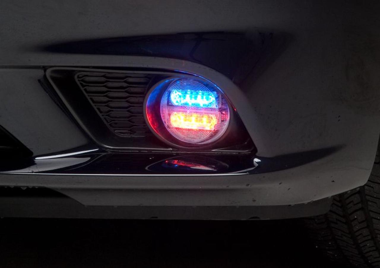 Whelen Charger LED Police Fog Light, Sold as 1