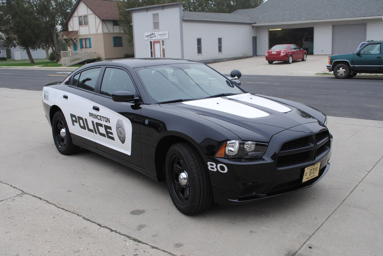 Charger Police Vehicle Graphics Decal Kit 2155