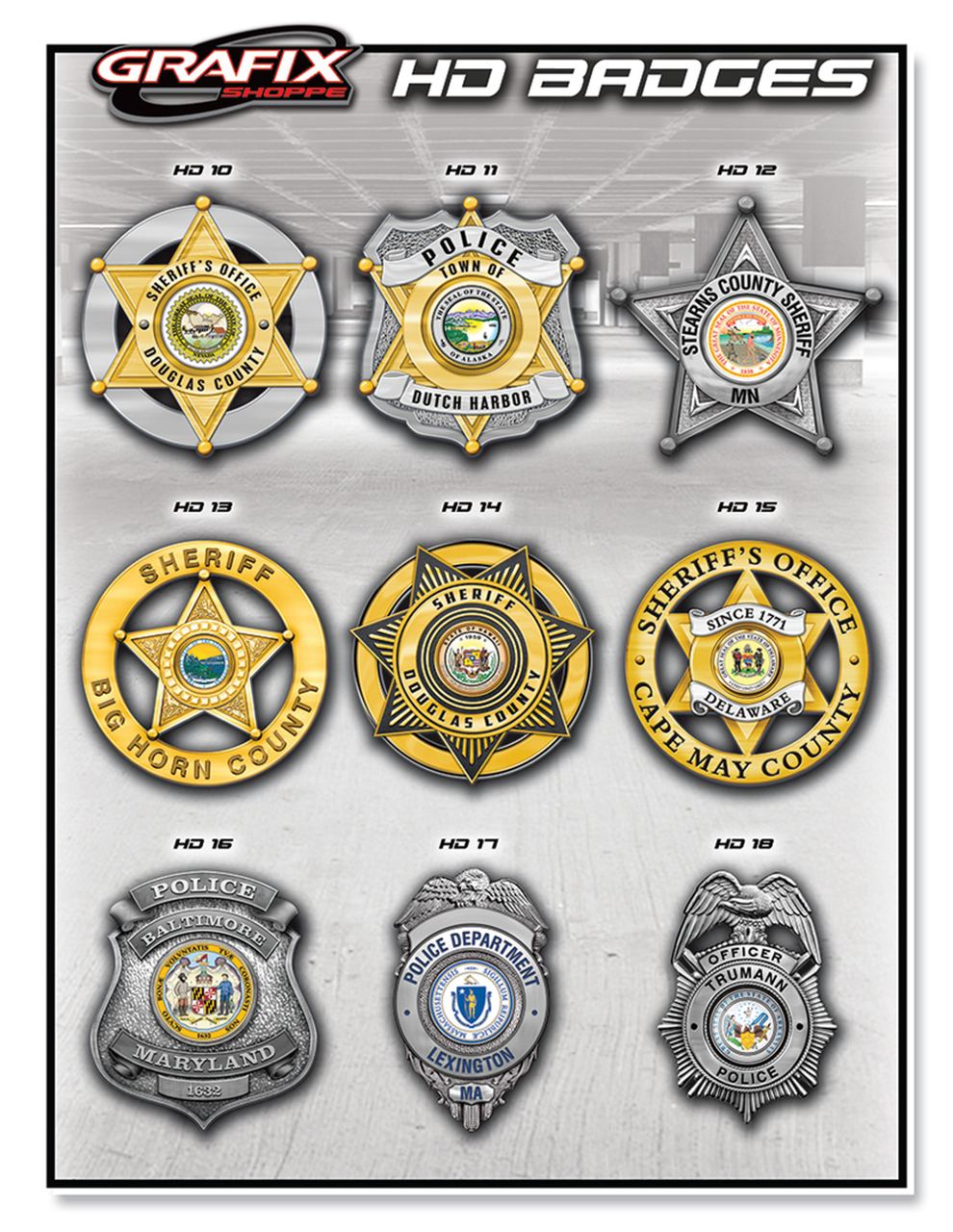 Badge Emblem Designs