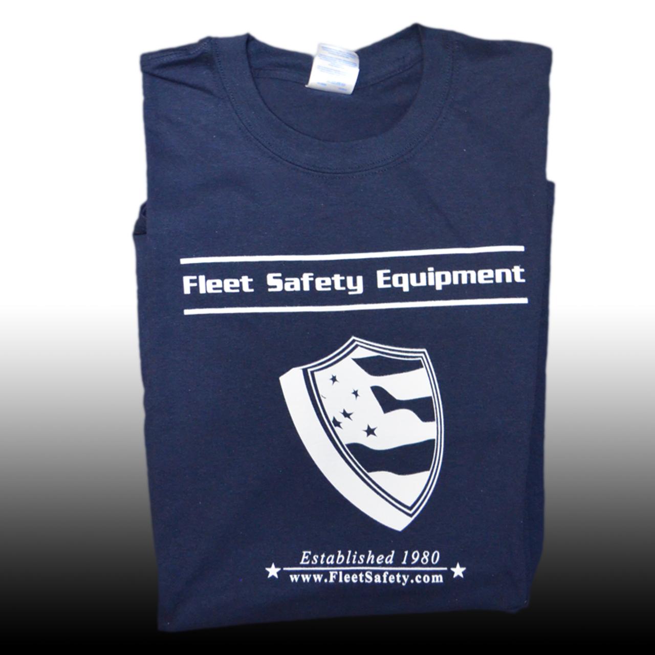 Fleet Safety Classic Blue Long Sleeve Shirt
