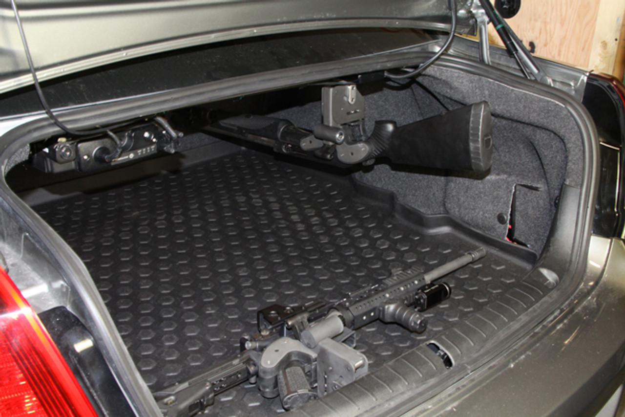 1 Set Universal Car Trunk Fixed Device Mounting Bracket Organizer Black