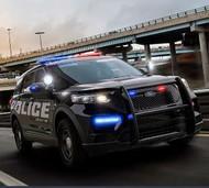Red//White Drivers Side Blue//White Passengers Side IW34UFX Whelen Inner Edge Duo for 2012-2019 Ford Explorer//Interceptor Utility