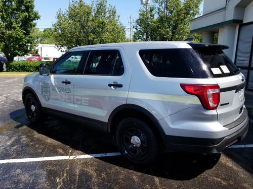 Ford Police Interceptor Utility SUV (Explorer) Ghost Graphic Decals, any  color