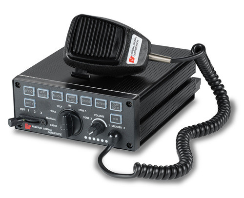 Federal Signal Police Siren and Light Control PA640 on