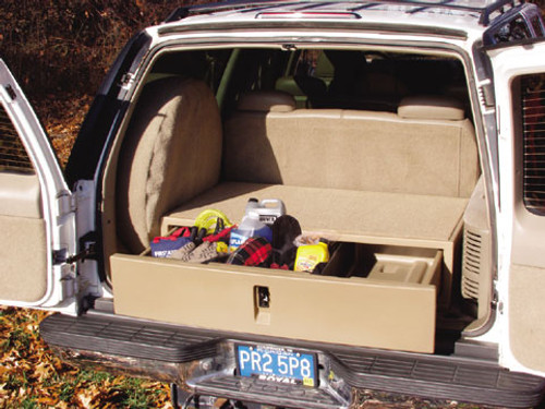 The SUV Rear Cargo Caddy Storage System and Organizer by ...