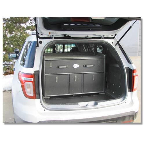 Suv Cargo Organizer >> Ford Police Interceptor Suv Utility Explorer 2018 2019 Cargo Cabinet