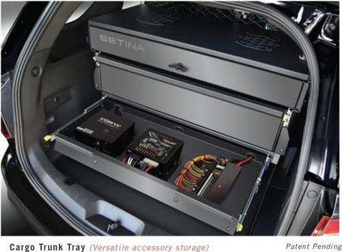 Chevy Tahoe 2015+ Storage Organizer Rear Cargo Box by ...