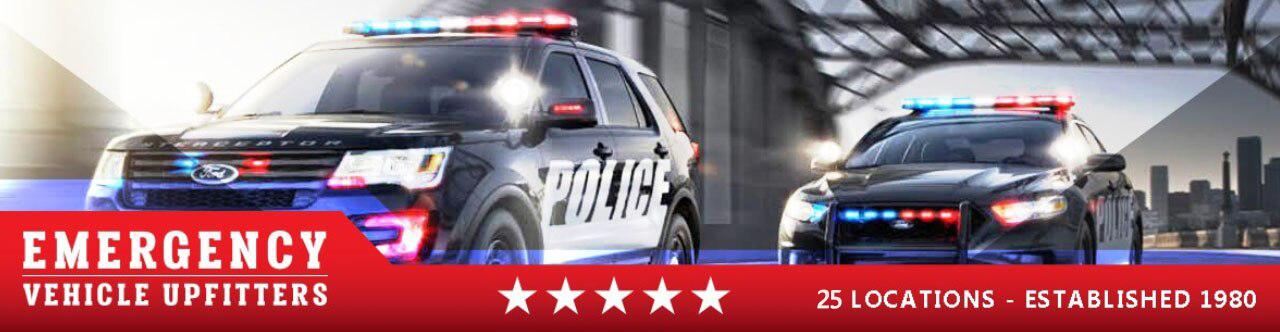 Cotton Jersey Police Car Navy