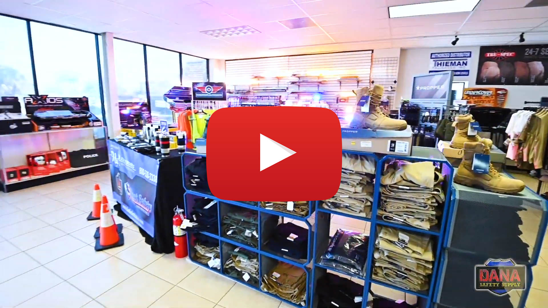 "Apparel & Gear Video - ""Tactical Police Gear, Apparel, and Supply Store"""