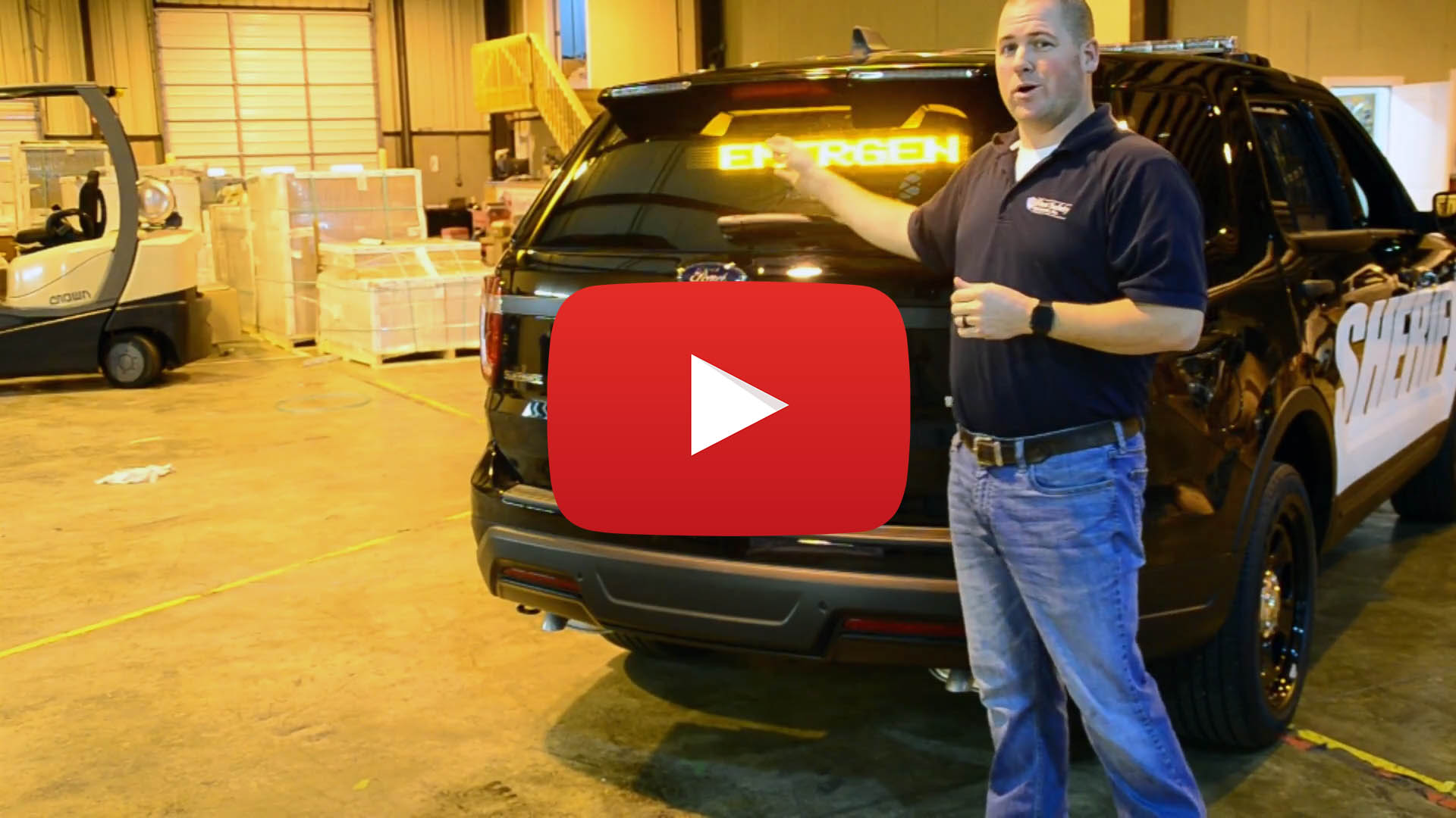 "Ford Explorer Walk-Through - "" Police Car Equipment and Emergency Vehicle Lights"""