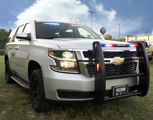 Police Car For Sale >> New 2018 4x4 Silver Tahoe Ppv Slick Top Admin With Red Blue Leds