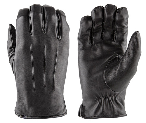 Damascus Police Riot Gear Luxe Deer Skin Leather Gloves W Faux
