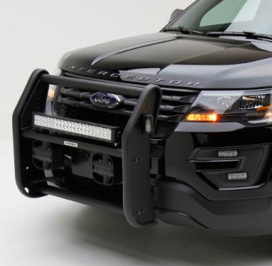 Go Rhino Push Bumper Grille Guard For Ford Police