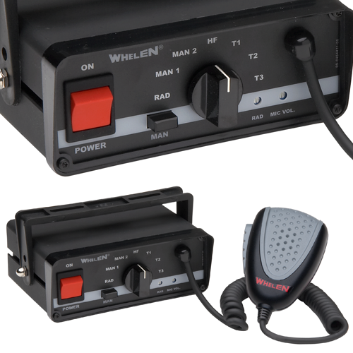 Whelen 295sl102 24v Siren Capable Of Using Two 100 Watt