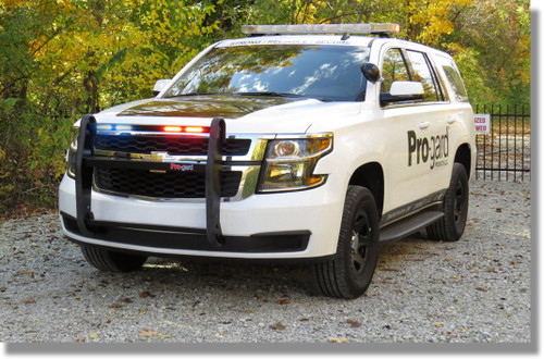 Tahoe 2015 2016 Police Push Bumper Grill Guard Ion Led By