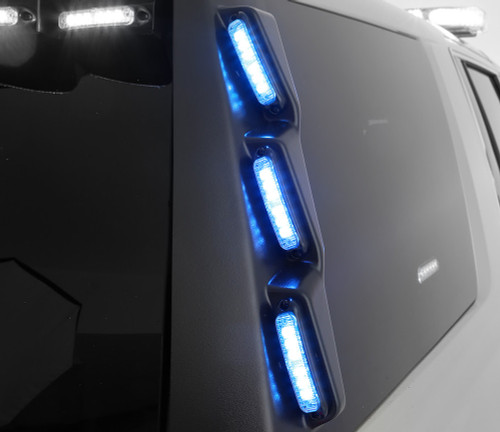 Whelen 2015 Tahoe Outer Edge Vertical Pillar Lightbar Rp45