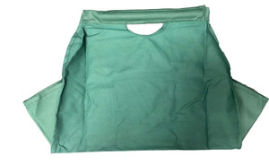 Dagan DG-LC7000 Green Canvas Log Carrier with Handles, 26x12-Inches