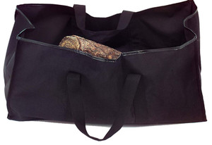 Dagan DG-LC5000 Black Log Carrier with Handles, 24x12-Inches
