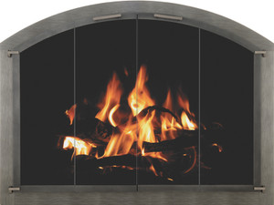Bar Iron - Arch Shown in pewter Masonry