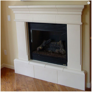 8″ Raised Hearth