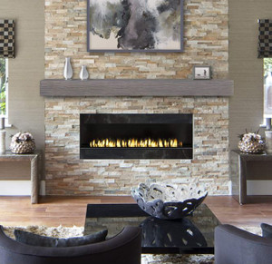 Zachary Wood Look Non-Combustible Mantels