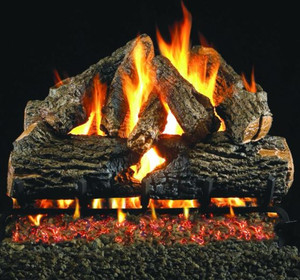 American Fyre Designs Cordova 110-Inch Outdoor Natural Gas Fireplace - Cafe Blanco