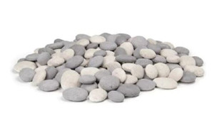 American Fyre Designs Mixed Fire Pit Creekstones - 20 Lbs