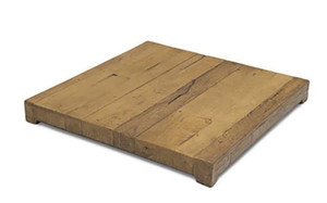 American Fyre Designs Cosmopolitan French Barrel Oak Cover For Square Fire Table