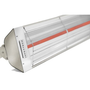 Infratech W-Series 39-Inch 2000W Single Element Electric Infrared Patio Heater - 240V - Stainless Steel - W2024SS
