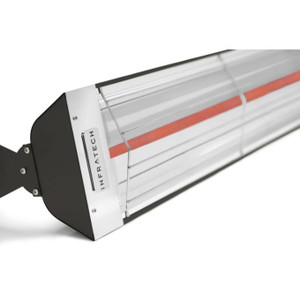 Infratech W-Series 61 1/4-Inch 3000W Single Element Electric Infrared Patio Heater - 240V - Black - W3024SS-BLK
