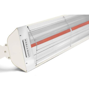 Infratech W-Series 61 1/4-Inch 3000W Single Element Electric Infrared Patio Heater - 240V - Biscuit - W3024BI