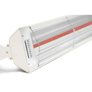 Infratech W-Series 33-Inch 1500W Single Element Electric Infrared Patio Heater - 120V - Biscuit - W1512BI