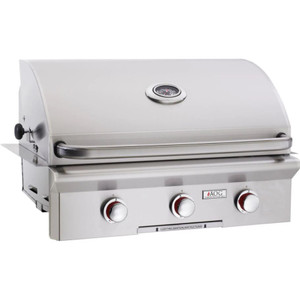American Outdoor Grill T-Series 30-Inch 3-Burner Built-In Natural Gas Grill - 30NBT-00SP