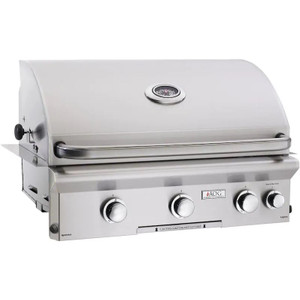 American Outdoor Grill L-Series 30-Inch 3-Burner Built-In Propane Gas Grill With Rotisserie - 30PBL