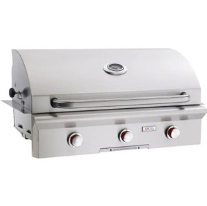 American Outdoor Grill T-Series 36-Inch 3-Burner Built-In Propane Gas Grill - 36PBT-00SP