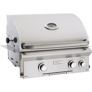 American Outdoor Grill L-Series 24-Inch 2-Burner Built-In Propane Gas Grill With Rotisserie - 24PBL