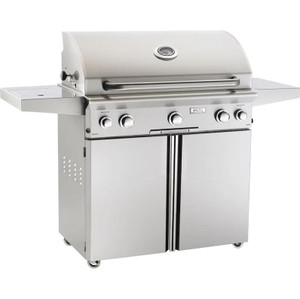 American Outdoor Grill L-Series 36-Inch 3-Burner Propane Gas Grill W/ Rotisserie & Single Side Burner - 36PCL