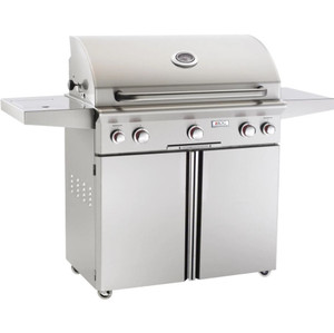 American Outdoor Grill T-Series 36-Inch 3-Burner Natural Gas Grill W/ Rotisserie & Single Side Burner - 36NCT