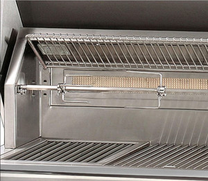 Alfresco ALXE 30-Inch Built-In Natural Gas Grill With Rotisserie - ALXE-30-NG
